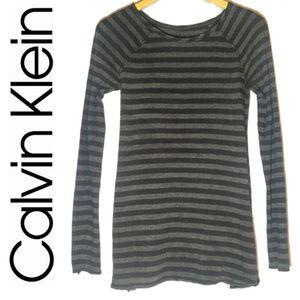 Calvin Klein Performance Flared Striped Tunic $59